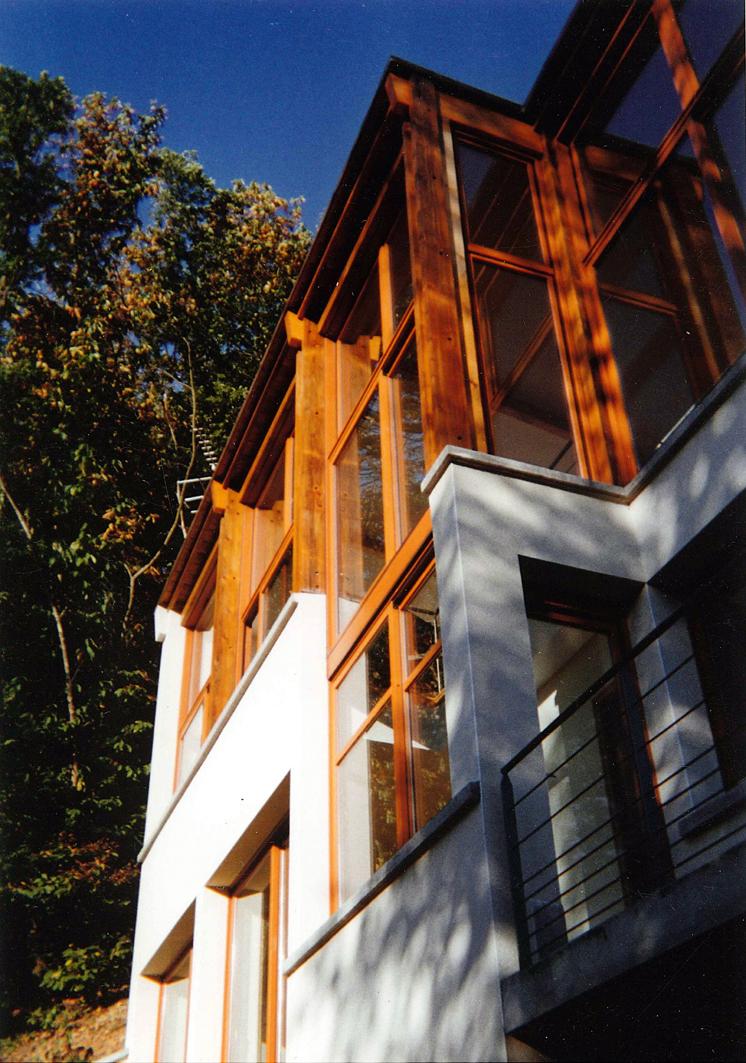 Maison dans les bois novak menier architectes 01 69 28 59 20novak menier architectes 01 69 - Maison dans les bois ...