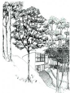 Bures maison dans les bois