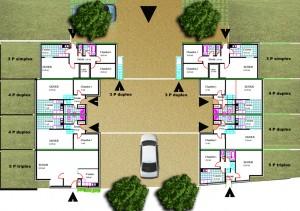 Gif Logements SDIS plan